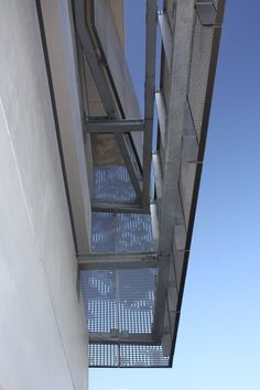 Detail Of The Perforated Zigzag Aluminum System Used To Cool And Ventilate  The Schoolu0027s Parking Garage