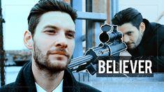 Billy Russo |  Believer Justin Tranter, Wayne Sermon, Dan Reynolds, Julia Michaels, Shield Maiden, Peer Pressure, Ben Barnes, Imagine Dragons, Actor