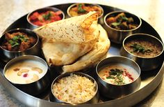 indian thali-veg meal,but oh so yummy!