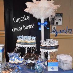 Cheer Banquet Dessert bar! #myvipevent #sweetcreationsbyjudy #cheer