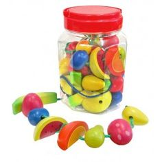 Fun Factory - Lacing Fruits in a Jar