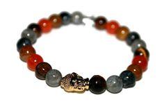 Mens Bracelet Buddha Bracelet Labradorite Bracelet Tiger Eye Bracelet Healing Jewelry Energy Bracelet Agate Bracelet Healing Bracelet