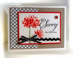 Mar 8, 2014  Consider It Cased | Stamps:  Too Kind, So Sorry; Paper: Poppy Parade, Crumb Cake, Very Vanilla, DSP Modern Medley; Ink: Basic Black, Poppy Parade, Pear Pizzazz; Accessories: narrow tafetta ribbon, ric rac ribbon, designer rhinestones; Tools:  dimensionals