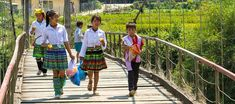The surrounding villages at Tu Le Golden Rice, Vietnamese Restaurant, North Vietnam, Rice Terraces, Bus Tickets, Travel Route, Harvest Season, Best Resorts, Working People