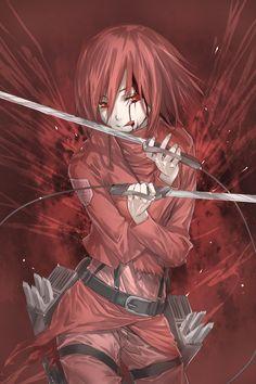 Shingeki no Kyojin / Attack on Titan - Mikasa Ackerman