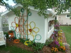 finally figured out what to do with my garden hose...