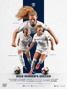 2018 Penn State Women's Soccer on Behance