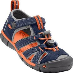 17722bbc6c80 Keen  Kids Seacamp II CNX Dress Blue Koi Toddler Little Kid (Blue Orange)