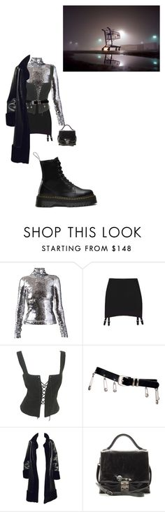 """""""in the midnight hour"""" by houdinia ❤ liked on Polyvore featuring Atto, Prada, Versace and Miu Miu"""