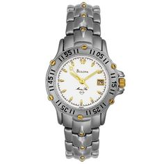 Bulova Women's 98M80 Marine Star Watch * You can find more details by visiting the image link.