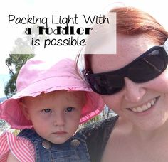 It is possible to pack light when travelling with a toddler, so light in fact you only need cabin baggage for short breaks. I will tell you how.