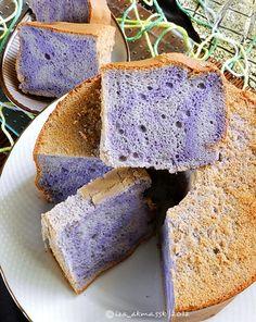 TARO CHIFFON CAKE | Singgahsana Kitchen