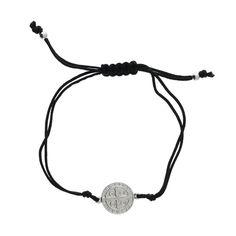 St. Benedict Medal Cord Bracelet