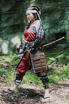 Samurai girl.