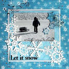 Layout: Let it Snow