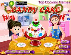 Cake Games, Cooking Games, Play Food, Candy, Recipes, Anime, Cartoon Movies, Sweets