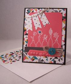 Vivid Vases Wave by Robin Lee - Cards and Paper Crafts at Splitcoaststampers