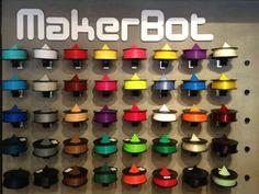 Makerbot Filament - different colors