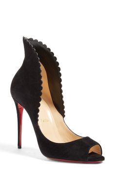 Christian Louboutin Pijonina Flared Collar Pump available at #Nordstrom