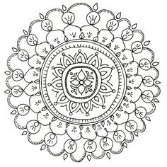 Color while your hubby watches football with these free downloadable mandala coloring pages >> http://www.diynetwork.com/how-to/make-and-decorate/crafts/2015-pictures/free-downloadable-adult-coloring-pages-