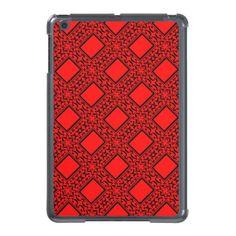 Elegant Black and Red iPad Mini Case