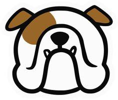 English bulldog vinyl decal car stickers - Smooshface United flat face breed bias bullylove - www.smooshfaceunited.com