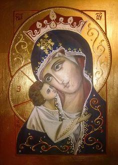 Madonna Eleusa by Dorota Hańczyk