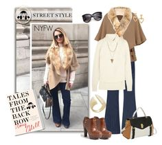 """""""Show Off Your NYFW Street Style"""" by court8434 ❤ liked on Polyvore featuring The Seafarer, 32 Paradis Sprung Frères, Agnona, UGG Australia, Paul Frank, Charlotte Russe, BCBGMAXAZRIA, StreetStyle, NYFW and talesfromthebackrow"""