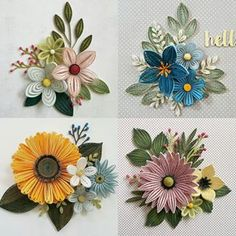 Paper Quilling For Beginners Neli Quilling, Paper Quilling Flowers, Paper Quilling Cards, Paper Quilling Jewelry, Paper Quilling Patterns, Quilled Paper Art, Quilling Paper Craft, Paper Crafts, Quilled Roses
