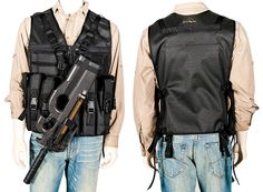 The Vest Guy: P90 Prepper Vest All TheVestGuy.com products are made to order so each can be modified to meet your specific needs. Manufactured in the USA, backed by a workmanship lifetime warranty. The Vest Guy, the nation's leader for quality vests.
