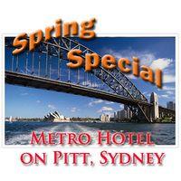 Spring Special at Metro Hotel on Pitt