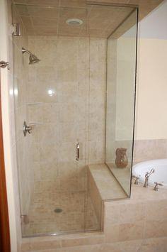 Master Bath Remodel, Diy Bathroom Remodel, Shower Remodel, Bathroom Renos, Bathroom Layout, Bathroom Renovations, Budget Bathroom, Bathroom Design Inspiration, Modern Bathroom Design