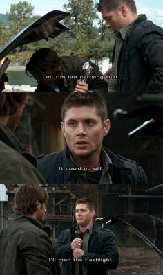 Haha oh Dean(: