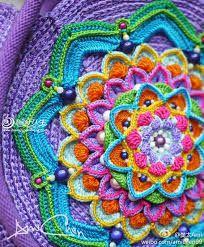 ⊰❁⊱ Mandala ⊰❁⊱ Daren Fan too Ami knit weave beautiful artistic rendering life _ weave hand-knit network of life Love Crochet, Beautiful Crochet, Crochet Yarn, Crochet Flowers, Crochet Stitches, Crochet Doilies, Hand Crochet, Crochet Mandala Pattern, Crochet Circles