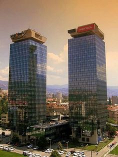 Twins Momo i Uzeir, Marijin dvor, Sarajevo Where Is Your Heart, My Town, Bosnia And Herzegovina, Macedonia, Slovenia, The Good Place, Skyscraper, Tourism, Sarajevo Bosnia
