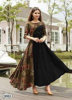 *Texstile Arena Presenting* To Salwar Designs, Printed Kurti Designs, Kurti Designs Party Wear, Pakistani Dresses, Indian Dresses, Cotton Gowns, Party Wear Dresses, Indian Designer Wear, Dress Patterns