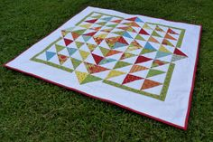 "Pieces of Contentment: ""Fresh Flowers"" Quilt"