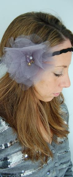 Valentina Ballerina Large Tulle Flower Poof by luniacstyle on Etsy, $28.00
