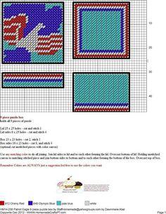 Patriotic Puzzle Box