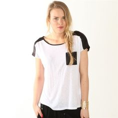 T-shirt noir et blanc #Pimkie #Black & White