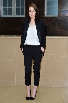 Michelle Dockery - 'Downton Abbey' - Press Launch - Red Carpet Arrivals - August 13, 2015