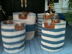 Mecox Gardens - Hand-Made Woven Baskets