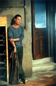 Johnny as Roux in Chocolat. He's always sexy but that role he took it to the nth degree!