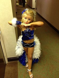 'Toddlers & Tiaras': Please noo... I find this so ridiculous. Moms trying to live through their daughters.. Cute kids, funny show..but stripping these kids of their childhood & dressing them up like little college girls.. I'd like to see how they turn out at age 16 ha!