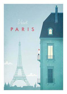 Paris Travel Plakat