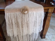 shabby chic runner great look love love  this look