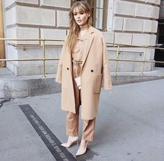Kristina Bazan attends NYFW. Elle.com rated this as the best NYFW look this…