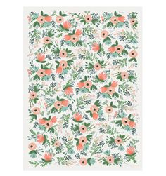 Wildflower Wrapping Sheets by RIFLE PAPER Co. | Made in USA