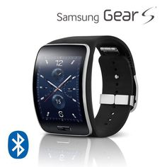 Samsung Gear S Smartwatch Unlocked w/ Curved Display, Wi-Fi, Bluetooth, Fitness Monitor, & Many More Apps