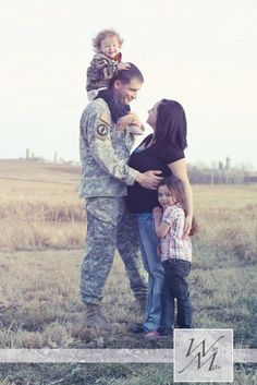 A Military Family Photography Session, check it out! #military